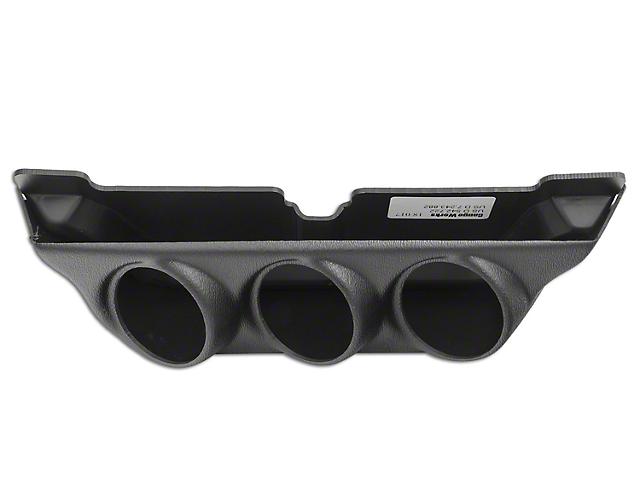 Auto Meter Overhead Console Gauge Pod - Triple 2-1/16 in. (03-08 RAM 1500)
