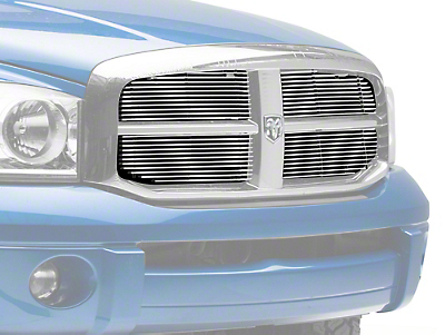 T-REX Billet Upper Grilles Insert - Polished (06-08 RAM 1500)