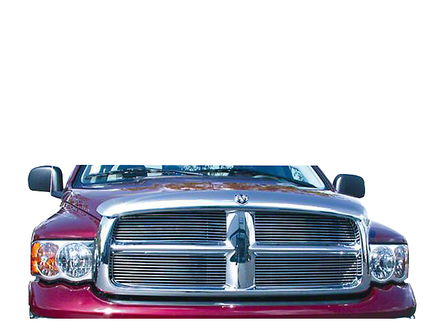 T-REX Billet Upper Replacement Grilles - Polished (02-05 RAM 1500)