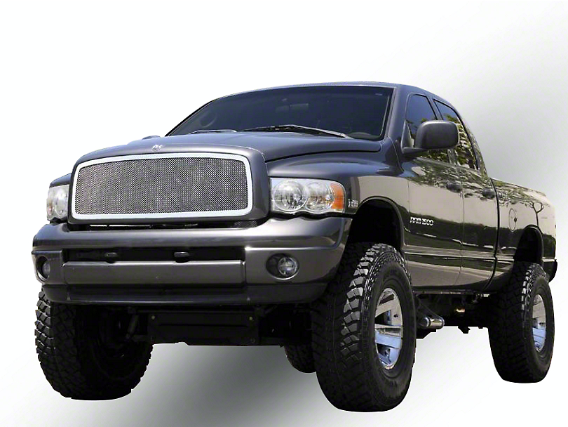 T-REX Upper Class Series Upper Mesh Grille Insert - Polished (02-05 RAM 1500)
