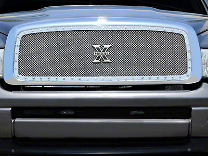 T-REX X-Metal Series Upper Grille Insert - Polished (02-05 RAM 1500)