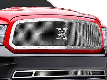 T-REX X-Metal Upper Mesh Grille Insert - Polished (13-18 RAM 1500, Excluding Rebel)