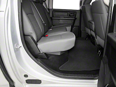 DU-HA Underseat Storage - Dark Brown (09-18 RAM 1500 Quad Cab, Crew Cab)