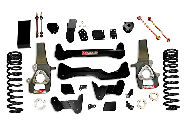 SkyJacker 6-Inch Suspension Lift Kit with Shocks (09-11 4WD RAM 1500)