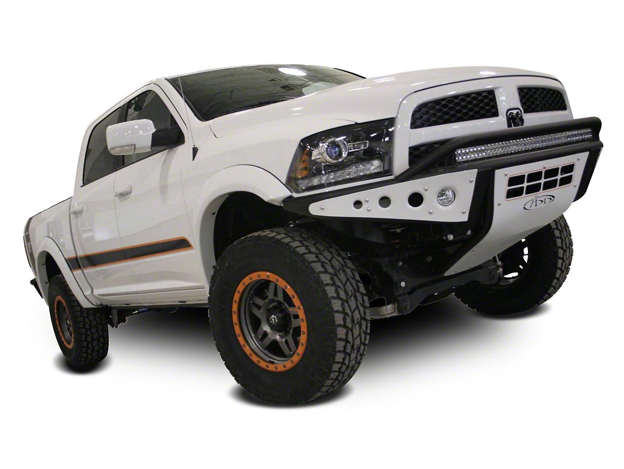 Addictive Desert Designs Stealth Front Bumper (09-18 RAM 1500, Excluding Rebel)