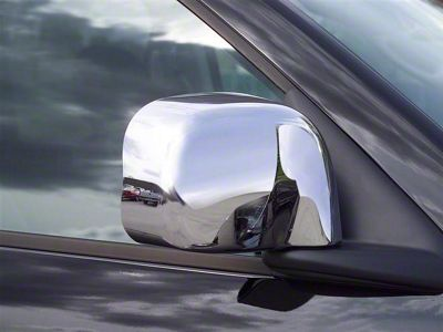 Putco Chrome Mirror Covers (02-08 RAM 1500 w/ Standard Mirrors)
