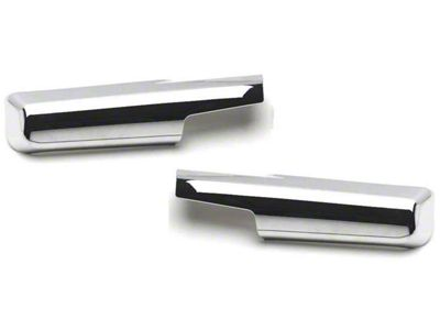 Putco Chrome Towing Mirror Arm Covers (10-18 RAM 1500 w/ Towing Mirrors)