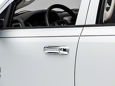 Putco Chrome Door Handle Covers w/o Passenger Keyhole (09-18 RAM 1500 Quad Cab, Crew Cab)