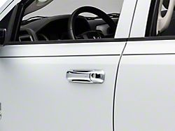 Door Handle Covers without Passenger Keyhole; Chrome (09-18 RAM 1500 Quad Cab, Crew Cab)