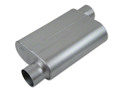 Flowmaster 40 Series Delta Flow Center/Offset Oval Muffler - 3.0 in. (Universal Fitment)