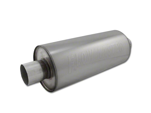 Flowmaster DBX Series Center/Center Bullet Style Muffler - 3.0 in. (Universal Fitment)