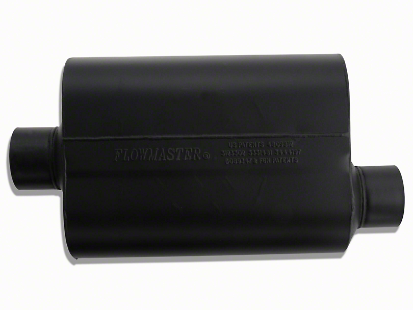 Flowmaster Super 40 Series Center/Offset Oval Muffler - 3.0 in. (Universal Fitment)