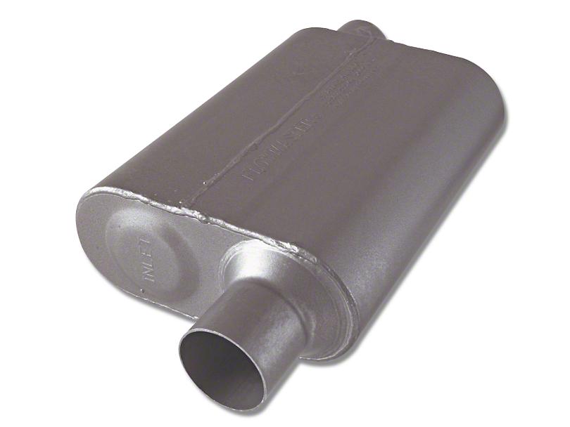 Flowmaster Super 44 Series Offset/Offset Oval Muffler - 2.5 in. (Universal Fitment)