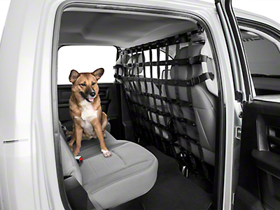 Dirty Dog 4x4 Pet Divider - Black (14-18 RAM 1500 Quad Cab, Crew Cab)