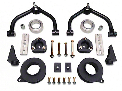 Tuff Country 4 in. Suspension Lift Kit w/ SX8000 Shocks (09-18 4WD RAM 1500 w/o Air, Excluding 3.6L V6 & Rebel)