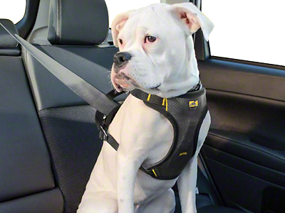 Kurgo Impact Dog Car Harness - Black/Charcoal (02-19 RAM 1500)