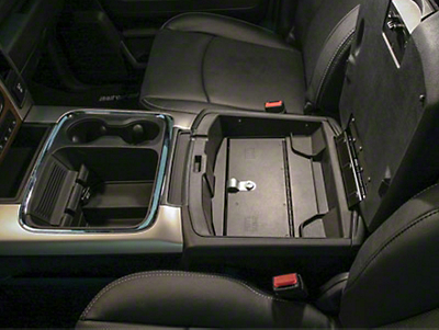 Tuffy Center Console Security Insert (10-18 RAM 1500 w/ Fixed Floor Console)