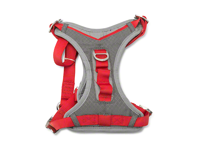 Journey Dog Harness - Chili Red/Charcoal