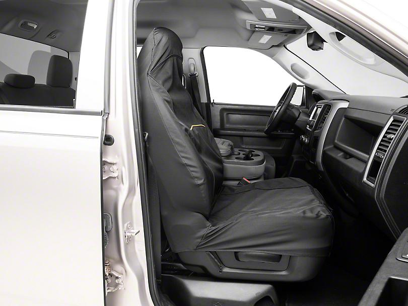 Co-Pilot Bucket Seat Cover - Black (02-19 RAM 1500)