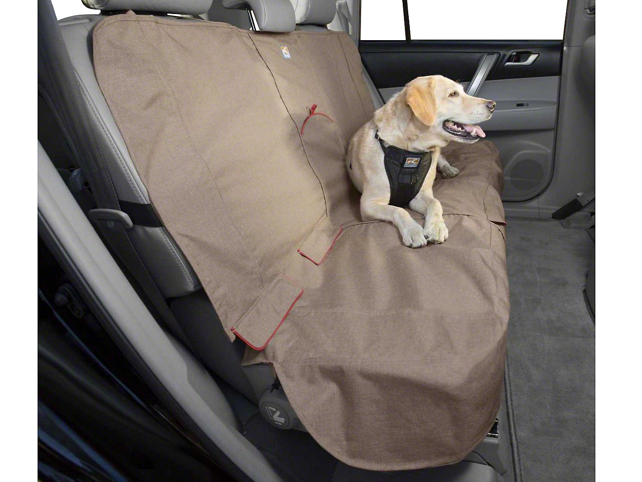 Kurgo Rear Bench Seat Cover - Heather - Nutmeg (02-19 RAM 1500 Quad Cab, Crew Cab, Mega Cab)