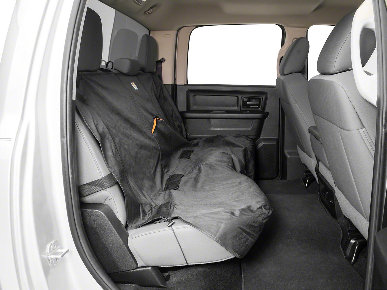 Kurgo Wander Rear Bench Seat Cover - Black (02-19 RAM 1500 Quad Cab, Crew Cab, Mega Cab)