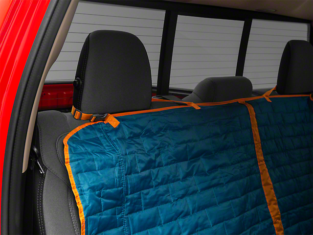 Loft Rear Bench Seat Cover - Coastal Blue/Charcoal (02-19 RAM 1500 Quad Cab, Crew Cab, Mega Cab)