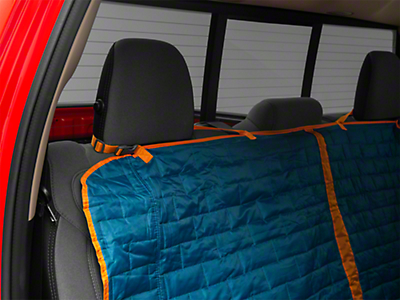 Kurgo Loft Rear Bench Seat Cover - Coastal Blue/Charcoal (02-19 RAM 1500 Quad Cab, Crew Cab, Mega Cab)