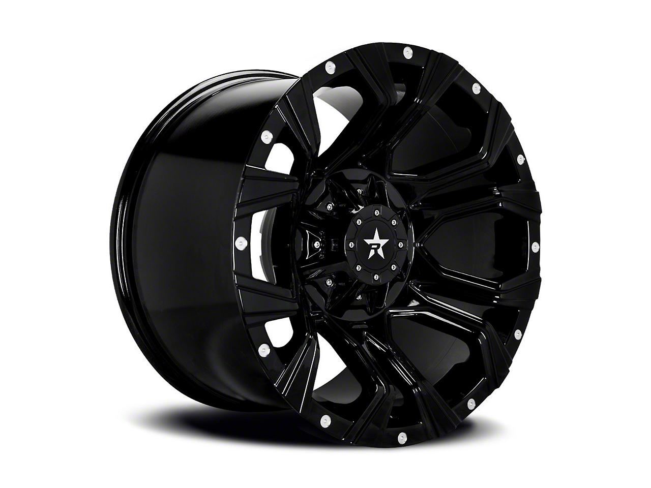 RBP 64R Widow Black 5-Lug Wheel - 18x9 (02-18 RAM 1500, Excluding Mega Cab)