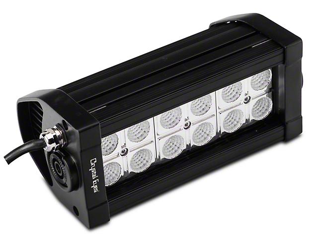 Alteon 7 Inch 7 Series LED Light Bar; 60 Degree Flood Beam