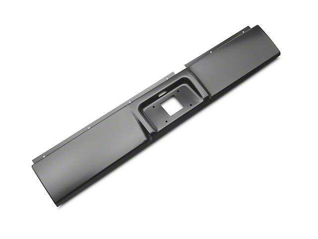 Steel Roll Pan; Unpainted (02-08 RAM 1500)