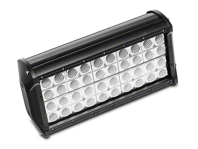 12 Inch 6 Series LED Light Bar; 60 Degree Flood Beam