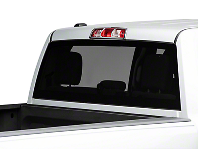 Carrichs ABS Third Brake Light Cover - Chrome (09-18 RAM 1500)