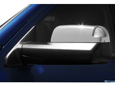 Carrichs ABS Mirror Covers - Chrome (09-18 RAM 1500 w/ Towing Mirrors)