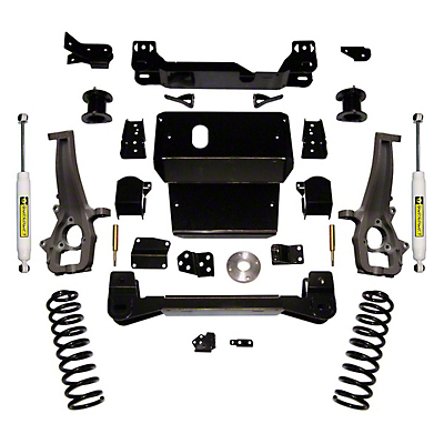 SuperLift 4 in. Suspension Lift Kit w/ Superide Shocks (12-18 4WD RAM 1500)