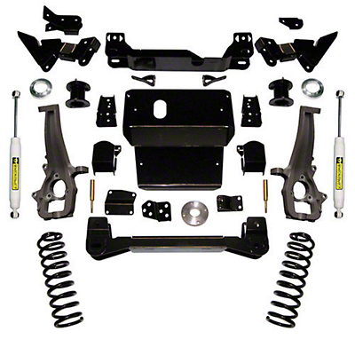 SuperLift 6 in. Suspension Lift Kit w/ Shocks (09-18 4WD RAM 1500)