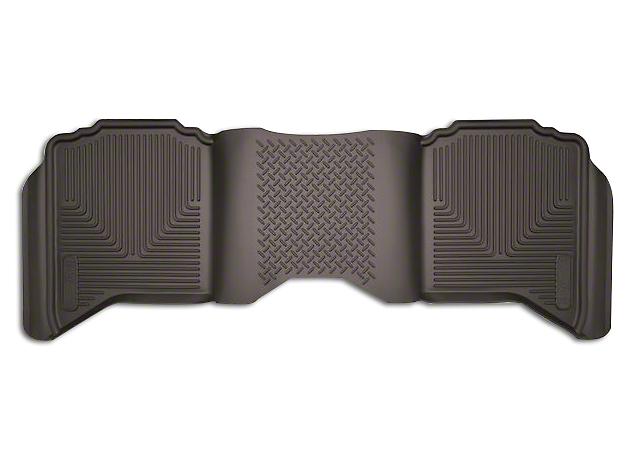 Husky X-Act Contour 2nd Seat Floor Liner - Cocoa (02-18 RAM 1500 Quad Cab, Crew Cab)