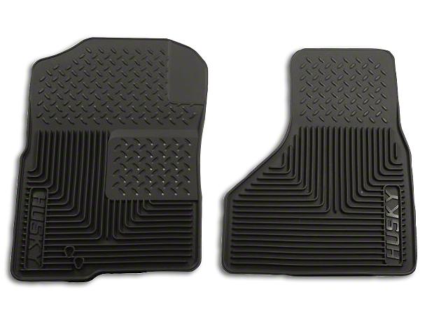 Husky Heavy Duty Front Floor Mats - Black (02-10 RAM 1500)