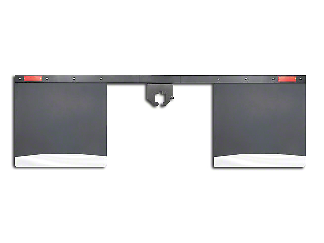 Husky 2.5 in. Receiver Hitch Mount Mud Flaps - 74 in. Wide (02-19 RAM 1500)
