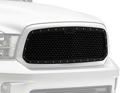 Rough Country Mesh Upper Grille Insert - Black (13-18 RAM 1500, Excluding Limited & Rebel)