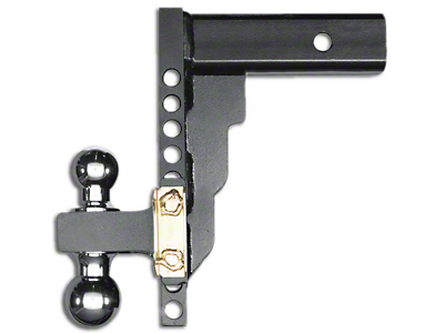Husky 2 in. Receiver Adjustable Ball Mount - 10 in. Drop Hitch (02-19 RAM 1500)
