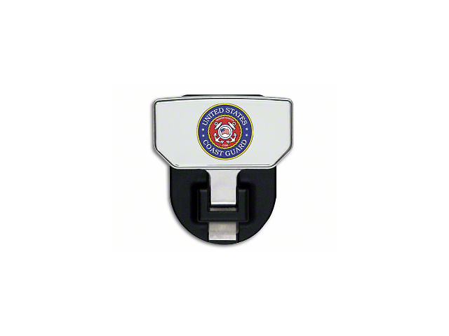 Carr HD Hitch Step with US Coast Guard Logo (Universal Fitment)