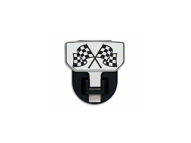 Carr HD Hitch Step with Checkered Flag Logo (Universal Fitment)