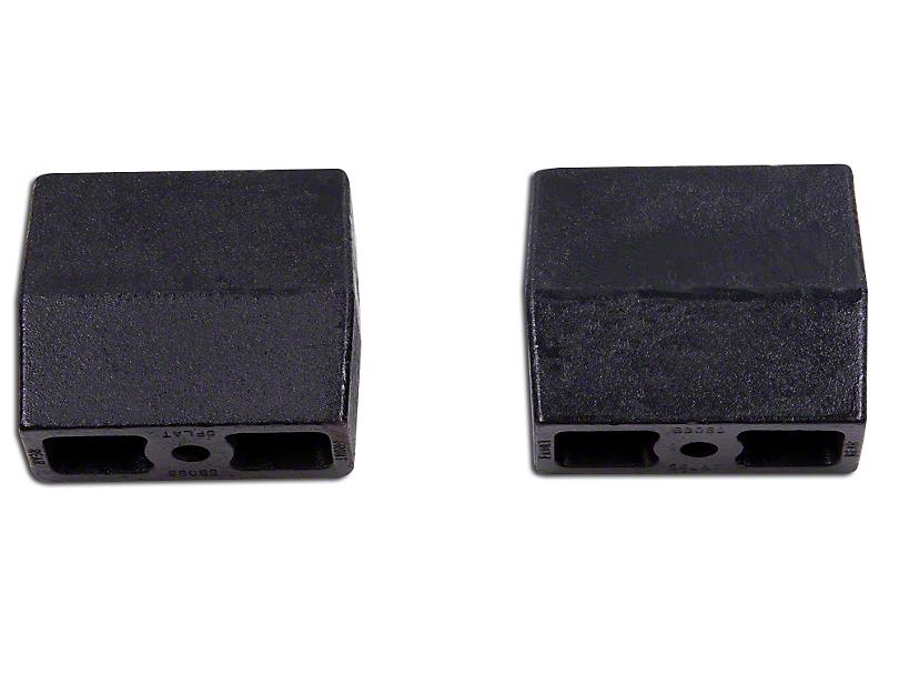 Zone Offroad 5 in. Lift Blocks w/ 1/2 in. Offset (02-08 RAM 1500)
