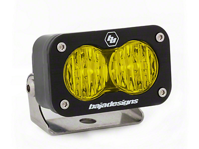 Baja Designs S2 Sport Amber LED Light - Wide Cornering Beam