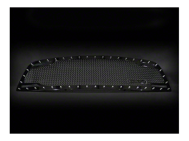 Royalty Core RC2 Twin Mesh Upper Replacement Grille - Black (09-12 RAM 1500)
