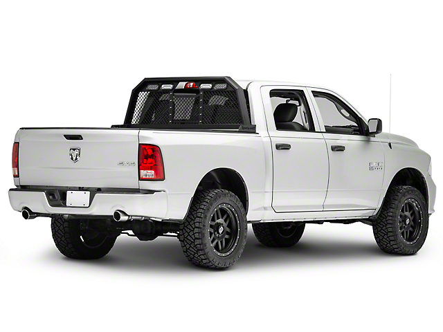 Royalty Core RC88 Ultra Billet Headache Rack w/ Integrated Tail Lights (09-18 RAM 1500)