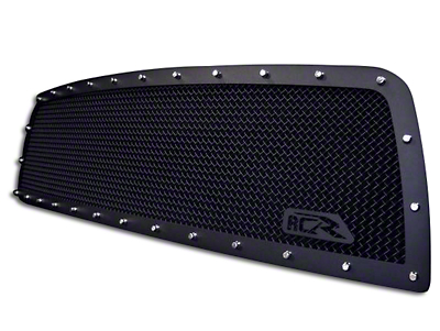 Royalty Core RCR Race Line Upper Replacement Grille - Satin Black (02-05 RAM 1500)