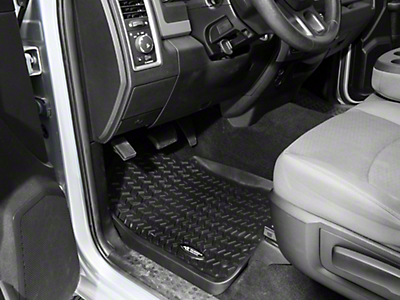 Rugged Ridge All-Terrain Front Floor Liners - Black (02-18 RAM 1500)