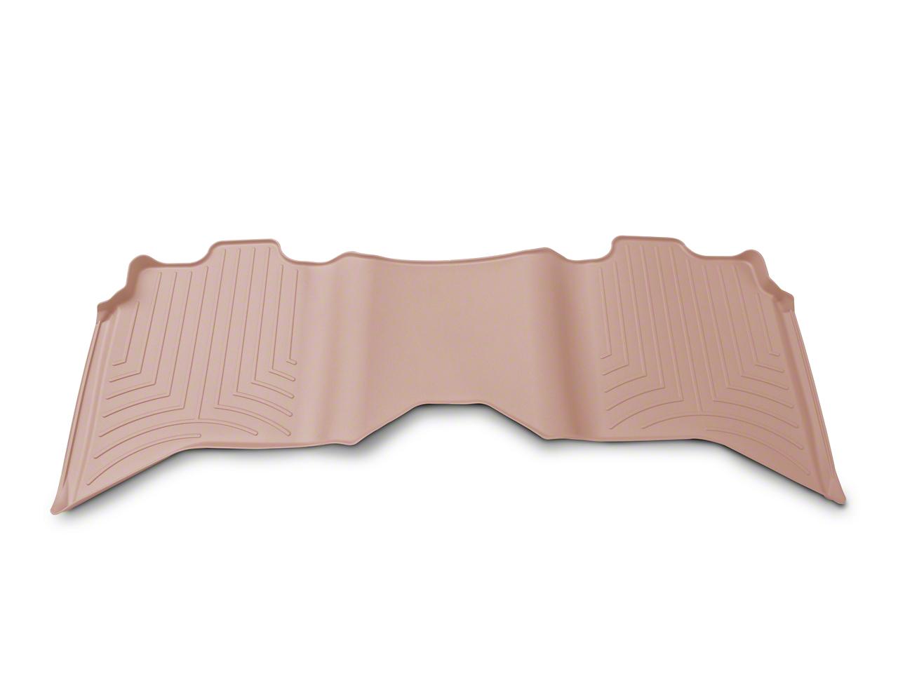 Weathertech DigitalFit Rear Floor Liner - Tan (09-18 RAM 1500 Quad Cab, Crew Cab)
