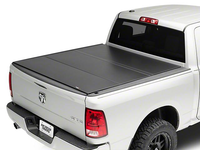 4e97587dc2c Weathertech AlloyCover Hard Tri-Fold Tonneau Cover (09-18 RAM 1500 w  5.7  ft.   6.4 ft. Box w o RAM Box)